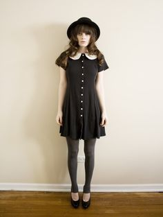 cute peter pan collar dress