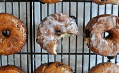 Glazed Blueberry Cake Donuts Recipe ==> http://www.craftdiyideas.com/glazed-blueberry-cake-donuts-recipe/