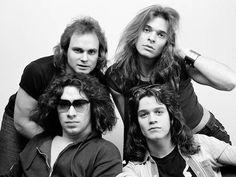 Wow, here's a shot I've never seen of classic Van Halen