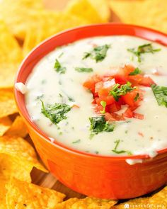 Cheesy, creamy, incredibly smooth with just the right amount of 'kick,' this Queso Blanco is the ultimate cheese dip perfect for dipping!