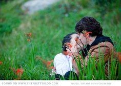 Couple in field  Image: Tiffany Burnham