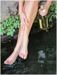 Benefits of Olive oil for feet