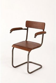 via urban outfitters: industrial age side chair