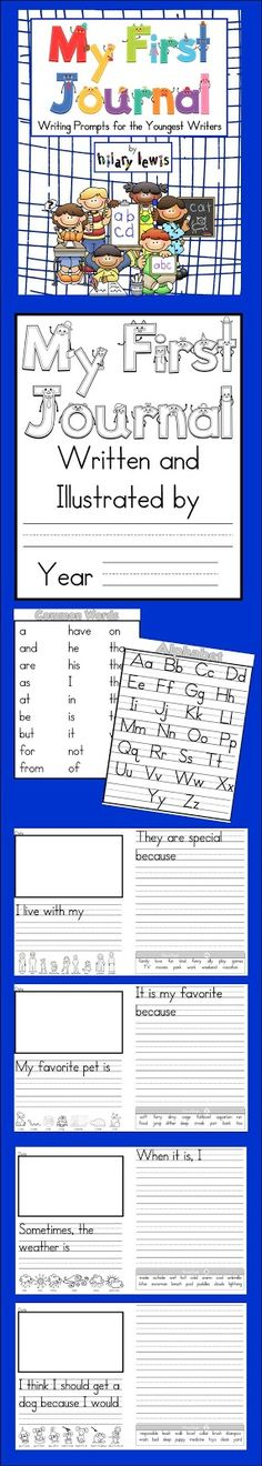 journal prompts, animals, write journal, first grade writing, writing prompts, persuasive writing, alphabet, teacher, kindergarten writing journals