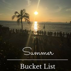 Summer Bucket List u
