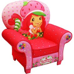 American Greetings Strawberry Shortcake Strawberries Icon Chair