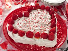 Your sweetheart is gonna love you for making Strawberry Sweetheart Cake for Valentine's Day or any day you want him or her to know how much you care.
