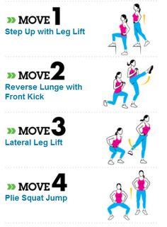 workouts for women | Lean Legs Workout - Women's Health Magazine | Fit Villains: Selfish ...