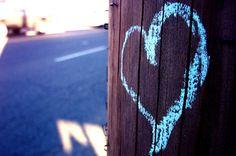 games, fun yoga, contrast heart, yoga game, chalk heart