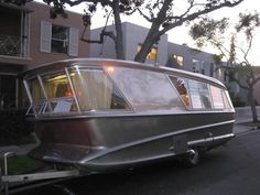 """Holiday House """"Geographic"""" (Model X) camper/ Defiantly not an Airstream, but very cool!"""