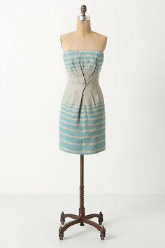 Sea Bands Mini Dress #anthropologie. classy. simple. pretty.
