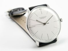 Montre Max Bill automatic bars 38mm White : Junghans
