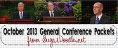 October 2013 General Conference Packets