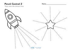 FREE - Pencil Control Worksheets