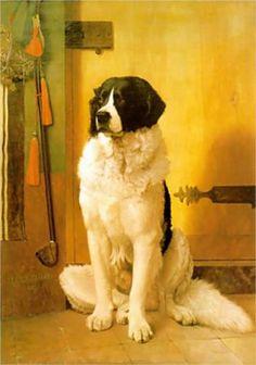 Study of a Dog - Jean-Leon Gerome