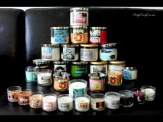 Video of the Bath and Body Works Candle Collection also Review of The Scents :) Enjoy!
