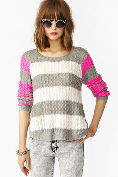 Shocker Stripe Knit in Clothes Tops at Nasty Gal