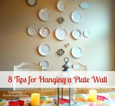 8 Tips for Hanging a Plate Wall