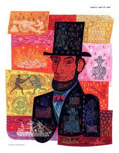 Abe Lincoln by Thomas Vroman 1956..