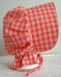 links to bonnet, skirt & apron patterns/tutorials