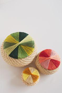 DIY: wrapped basket