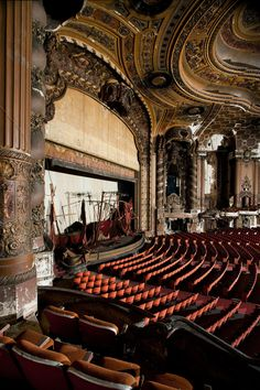 Matt Lambros Photography - Theaters  I can't help but think of all of the plays & productions this theater must have hosted!!