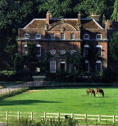 cottag, country houses, manor house england, front yards, english manor, english country homes, country house england, countri estat, arabian horses