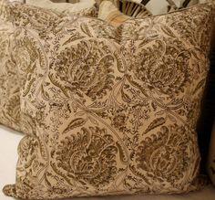 Vintage Indian pillows