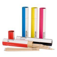Pantone pencil tubes £6.00