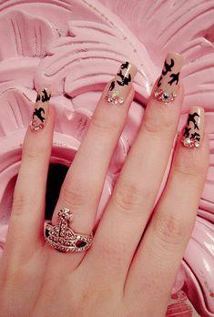. #sparrow #nail #art #inspiration