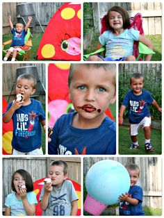 how to campout in your own backyard - some really cute & simple ideas here