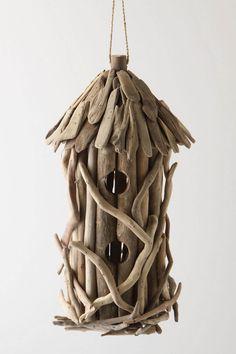 Driftwood Birdhouse