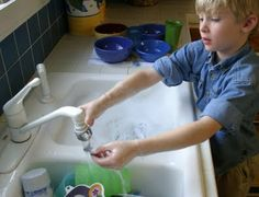 NAMC Montessori Teacher Training Blog: A Big List of Montessori Practical Life Activities, In the Classroom and at Home