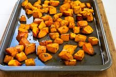 Recipe for Roasted Butternut Squash with Rosemary and Balsamic Vinegar