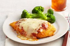 Oven-Baked Chicken Parmesan recipe