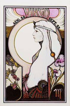The symbol of Virgo the Maiden was chosen by astrologers to represent people born under this sign because there is a cool, clear quality to the way that a typical Virgo person thinks.