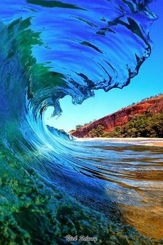 Waves Stopped in  Motion |  by Nick Selway