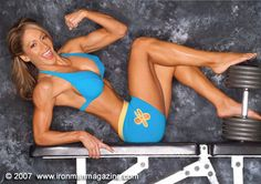 Carmen Garcia fitness model super star