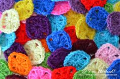 All About Granny Squares (Tutorials, tricks and tips)