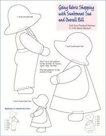 Sunbonnet Sue Quilt Designs | SUNBONNET SUE QUILTING PATTERNS « Free Patterns