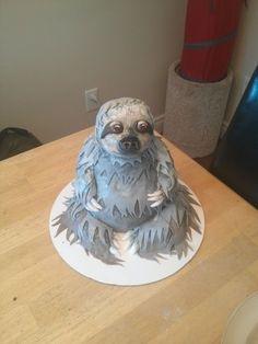 Sloth Cake #dessert #fondant