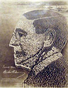 21,000 Men form Woodrow Wilson