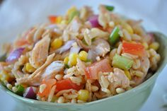 Mexican Orzo Chicken Salad Recipe