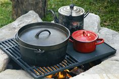 Outdoor Cooking Was Essential During Summer!
