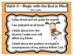 The 7 Habits of Happy Kids Classroom Posters free
