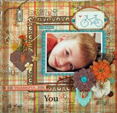 We are Thankful for You **Scraps of Elegance** DT Nov Reveal - Scrapbook.com
