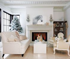 Photo Gallery: White Holiday Decorating | House & Home
