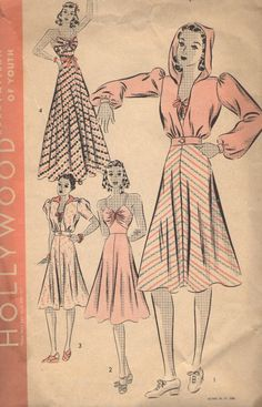Hollywood Pattern 1831 (1939)