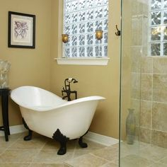 Clawfoot Tub Design, Pictures, Remodel, Decor and Ideas - page 3