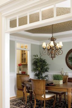 Dining Room from Plan 1032 - The Derbyville